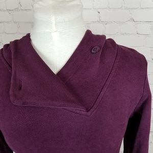 Toad&Co Dresses - Toad & Co.|NWT Purple Sweatshirt Dress
